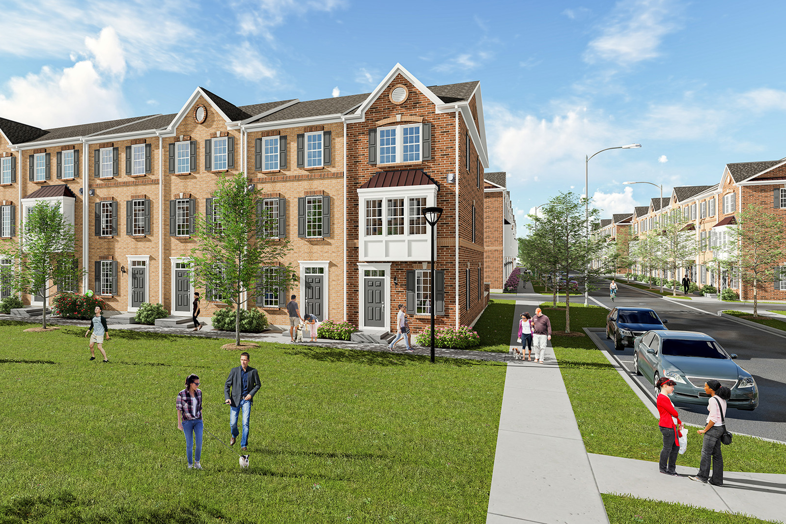Baltimores Newest Community With Plenty Of Parking Open Green Space And The Spacious Home You