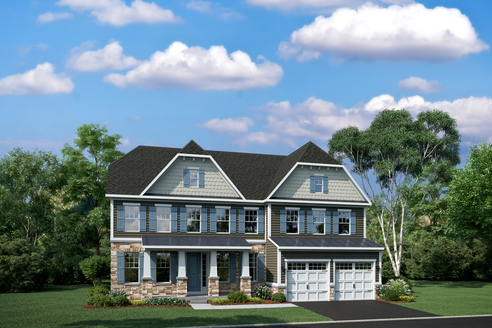 New stratford hall home model for sale heartland homes for Heartland homes pittsburgh floor plans