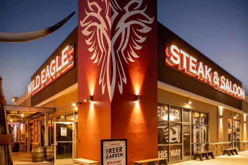 GIVE THE KITCHEN A BREAK WITH A NIGHT OUT AT WILD EAGLE STEAK & SALOON
