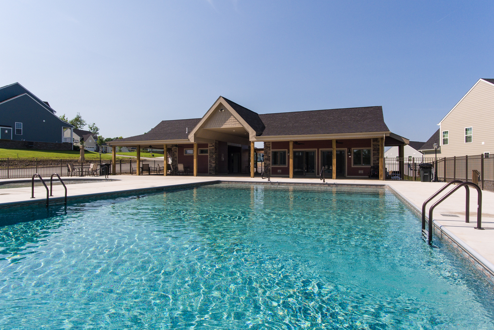 "<a href=""#visit"">Schedule a tour</a>&nbsp;of this beautiful community, featuring a pool and clubhouse, today!"