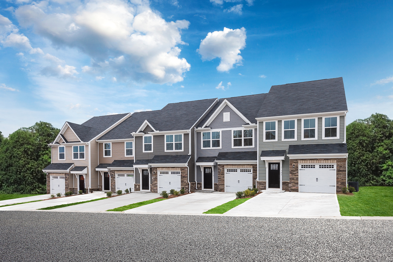 Excellent New Homes For Sale At South Main Townes In Greer Sc Within Download Free Architecture Designs Jebrpmadebymaigaardcom