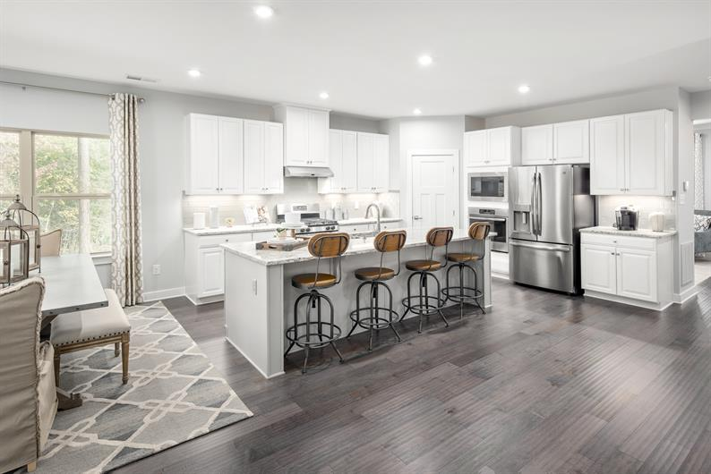 OPEN CONCEPT KITCHENS PERFECT FOR THE FAMILY CHEF