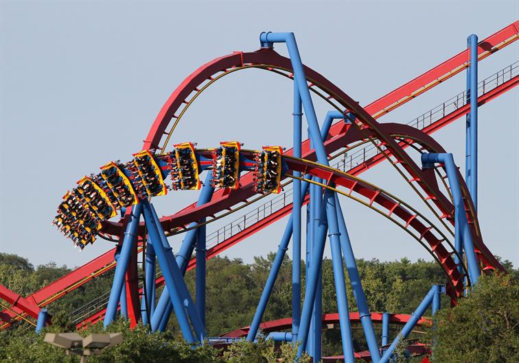 LOOKING FOR A THRILL? SIX FLAGS IS CLOSE BY