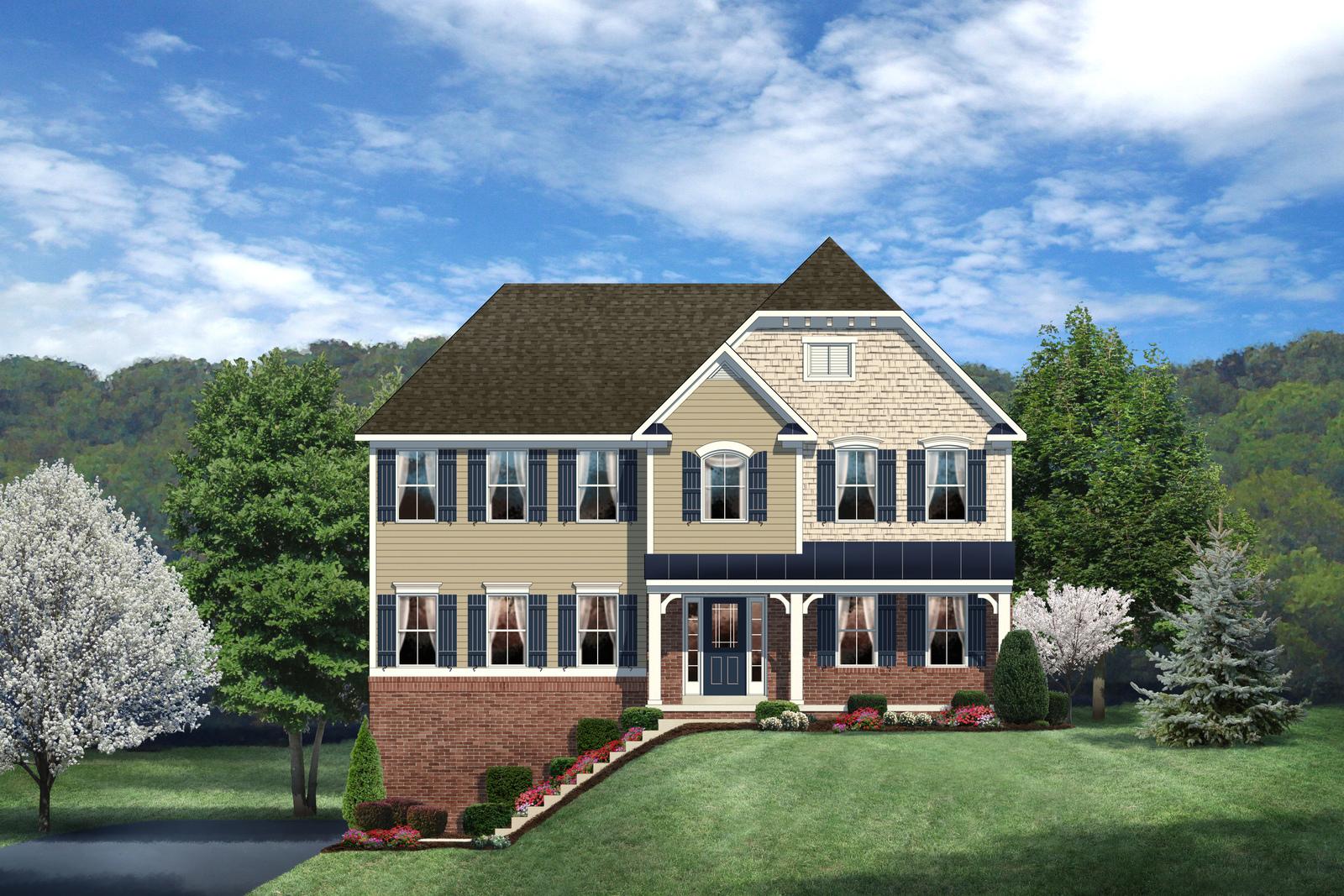 New oakmont home model for sale heartland homes for Heartland homes pittsburgh floor plans