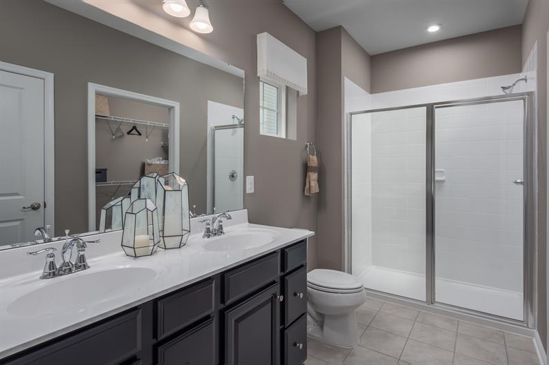 Spa Worthy Owner's Baths