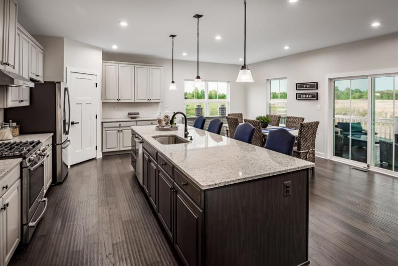GOURMET KITCHEN W/ Luxury Features Included