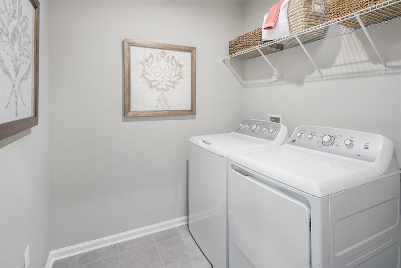 Upstairs Laundry Room