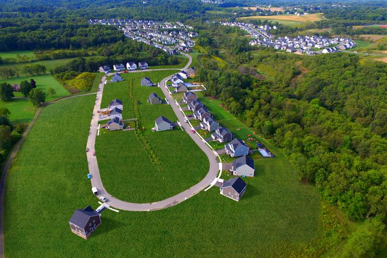 Choice of homesites with either wooded views or la