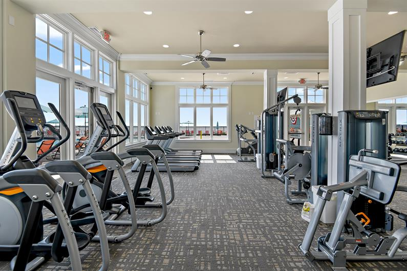 The community fitness center has your workout covered