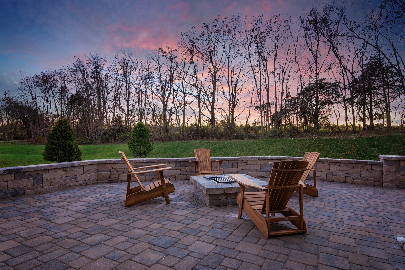 You'll love watching sunsets from your new home at Warrenton Chase.