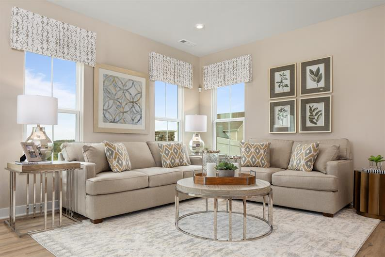 OWN A NEW HOME AT MEADOW RUN TOWNS FOR THE SAME AS RENTING IN THE AREA