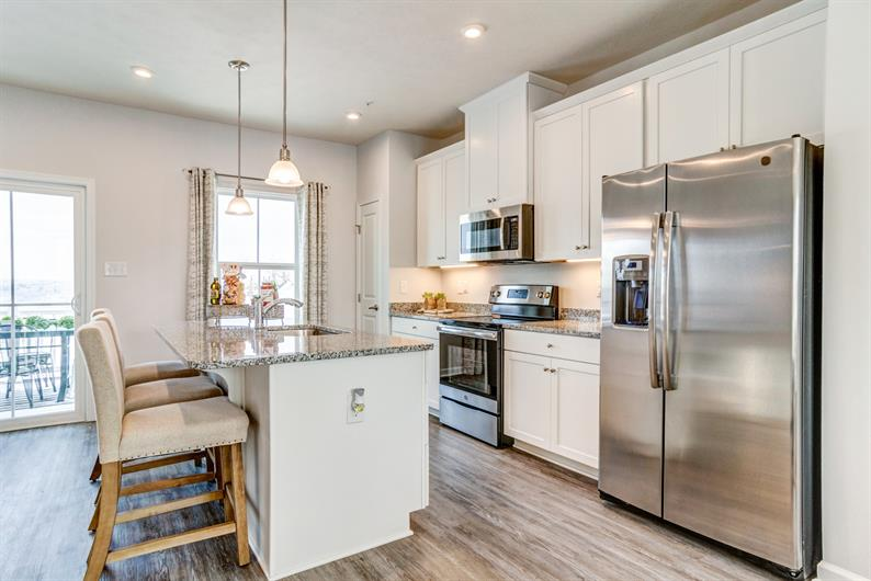 your new kitchen with everything you need