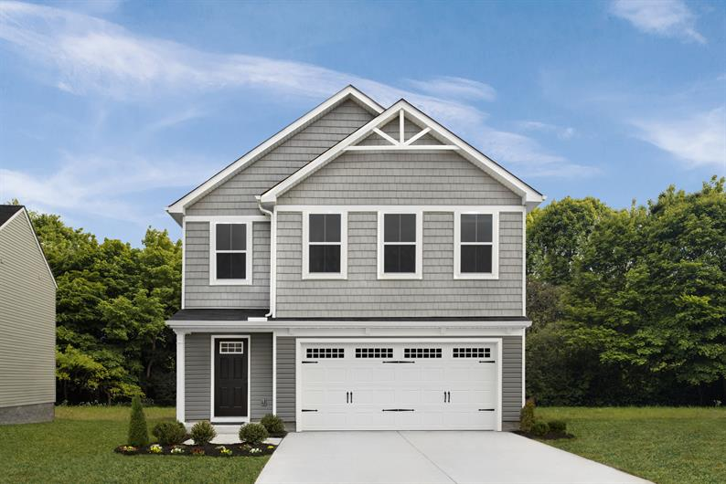 Curb appeal with character gets you excited to come home!