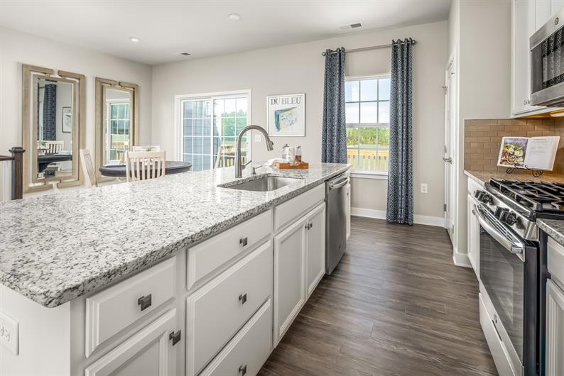 Luxury features included at Laurel Grove