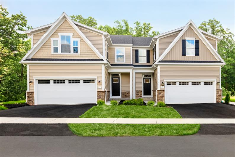 INCLUDED TWO CAR GARAGES AND OPEN FLOOR PLANS