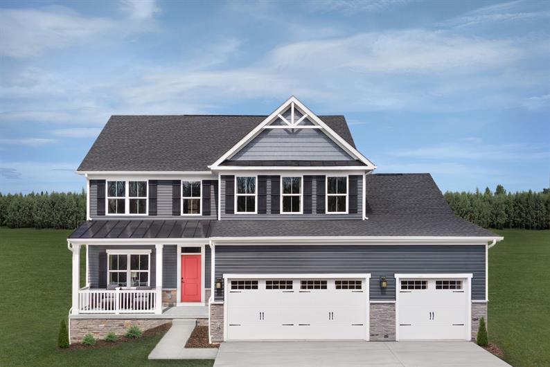 3-car garages included