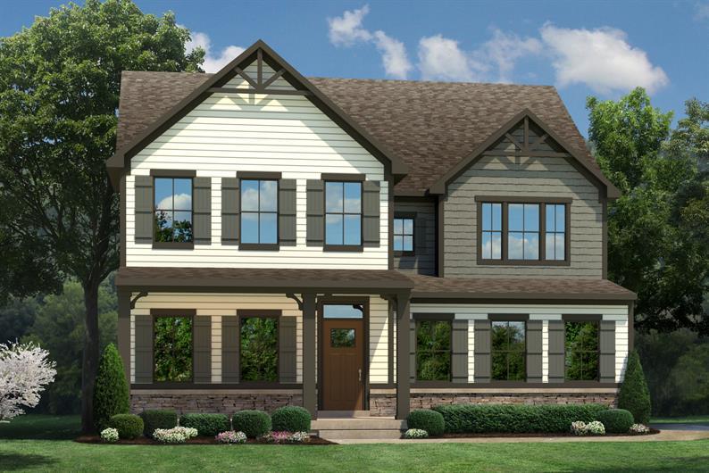Bronze trim and windows