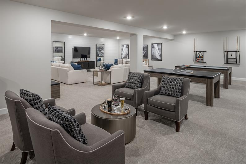 FANTASTIC BASEMENT FINISHES FOR MORE ENTERTAINMENT SPACE