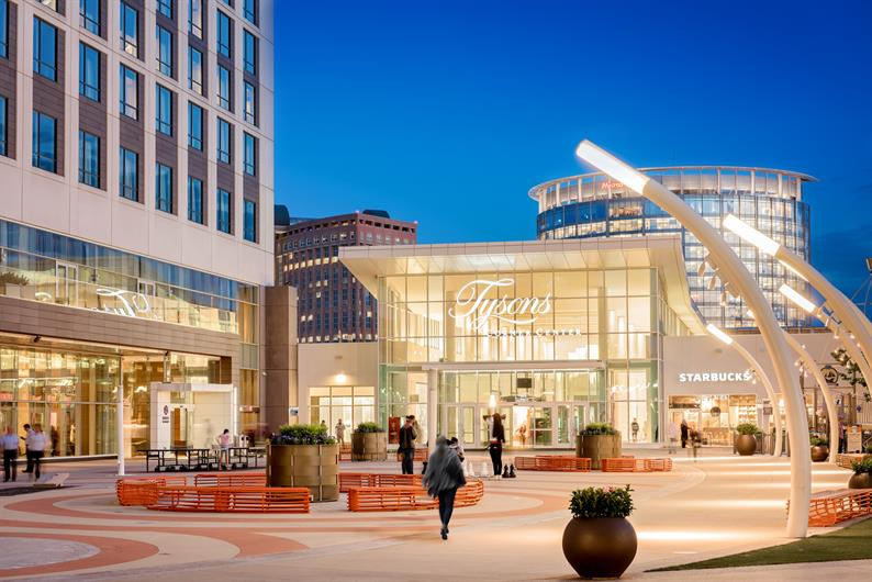 Live Just One Stop from Tysons Shopping and Dining