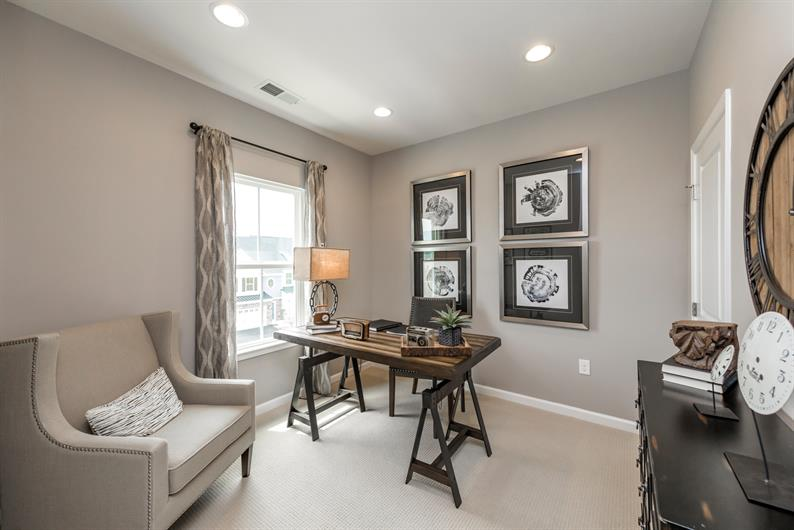 FLEXIBLE SPACES WITH ROOM FOR HOME OFFICE