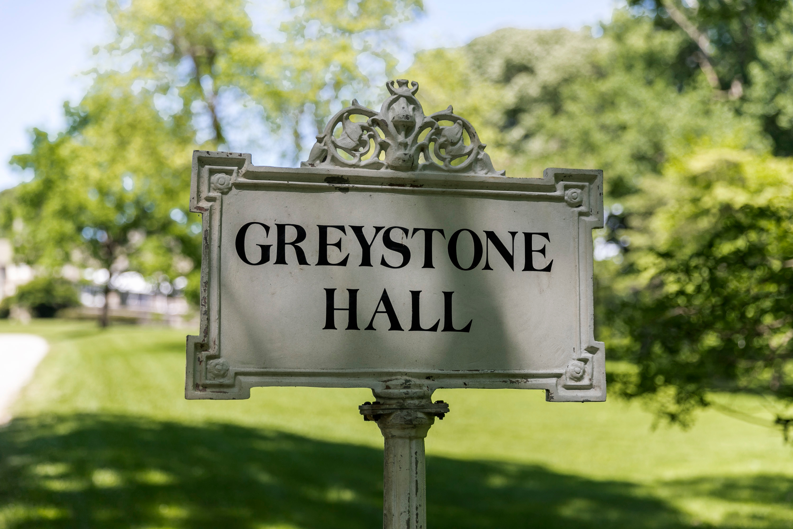 This spectacular new community is on the estate of Greystone Hall, built in 1907.