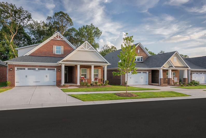 Ranch-Style Homes Include Craftsman Style Exteriors