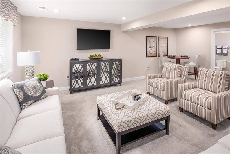 Expand Your Entertaining Space and Personalize Your Full Basement