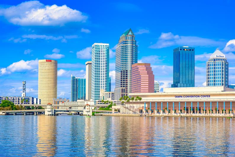 Convenient Access to Downtown Tampa