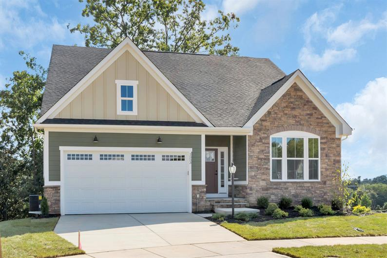 RANCH OR TWO STORIES WITH BRICK, STONE OR FRONT PORCH EXTERIORS INCLUDED, CHOOSE YOUR FAVORITE