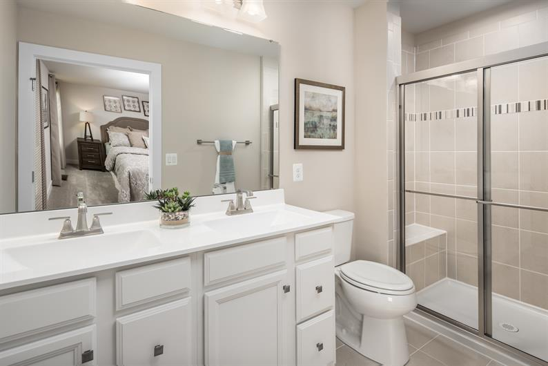 Smart Designed Private Owner's Bathroom