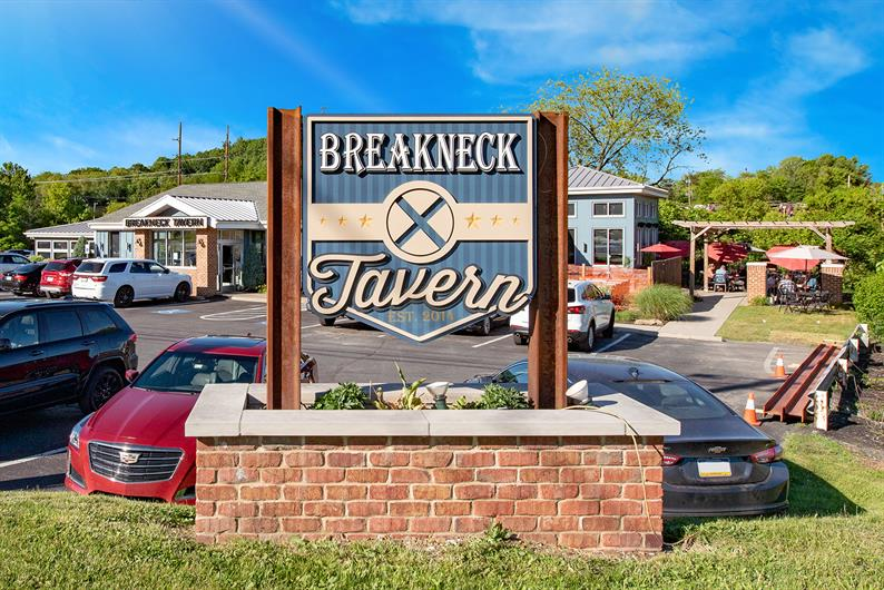 Breakneck Tavern and all the Rt. 228 Dining