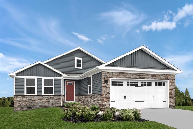 Brandywine Villas will offer Detached Low-Maintenance Ranch Homes