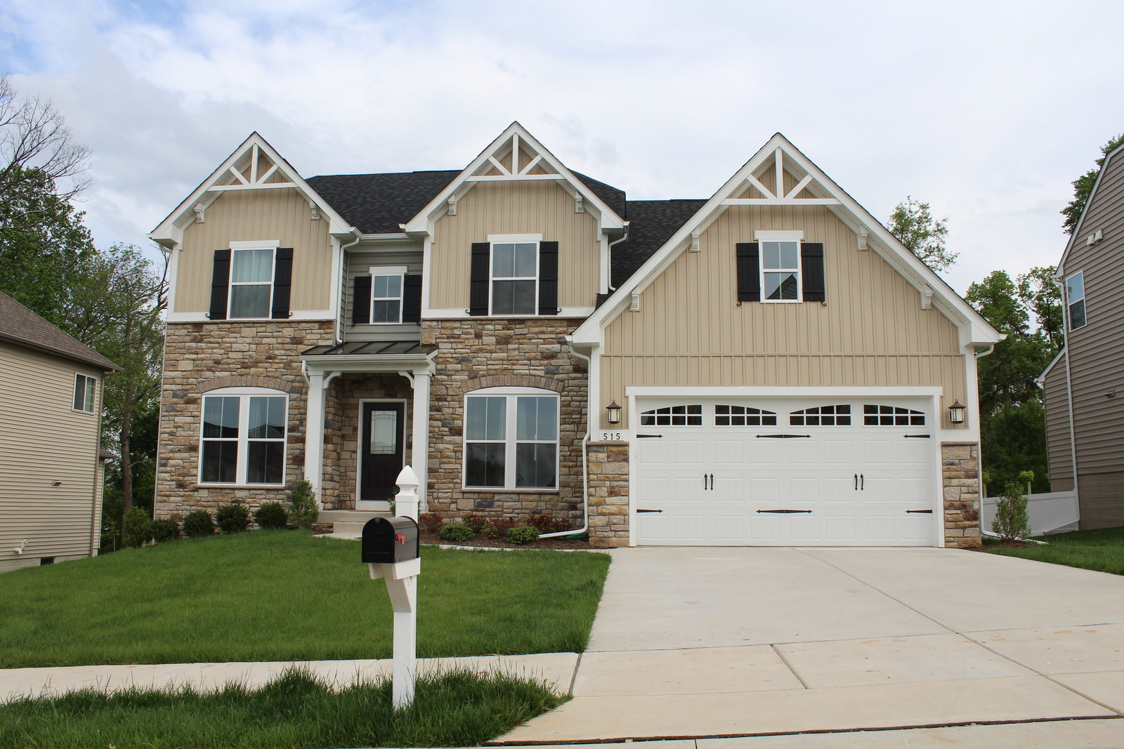 New Oberlin Terrace Home Model For Sale Heartland Homes