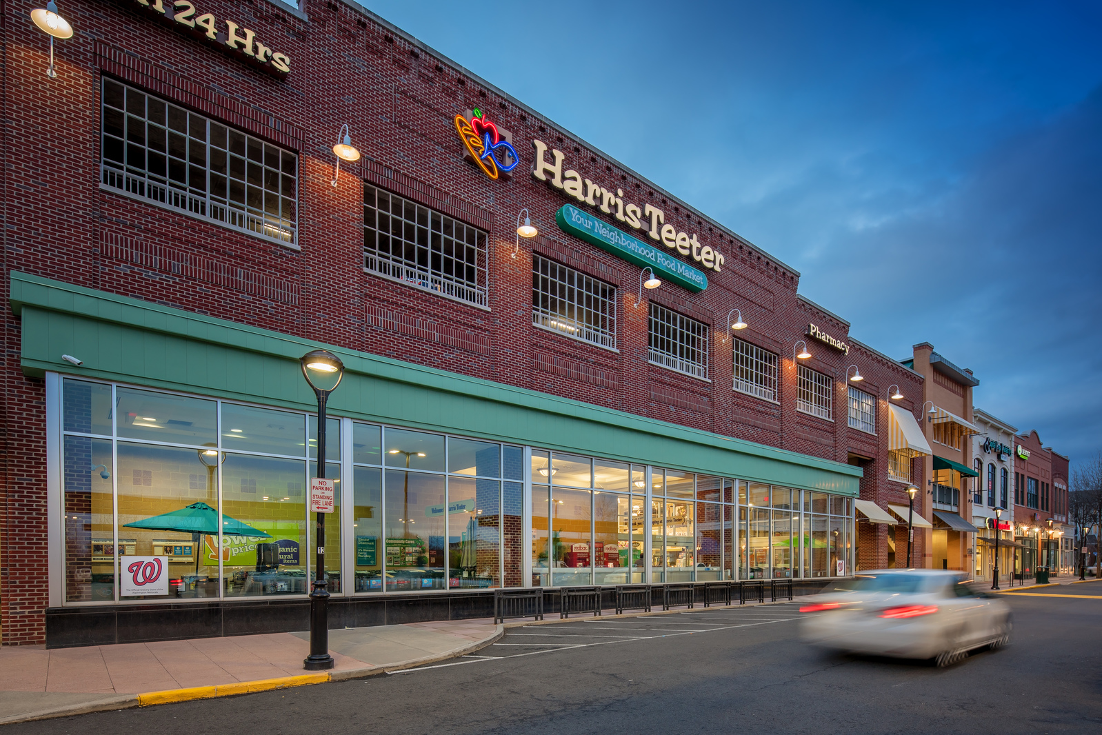 Take advantage of local favorite Harris Teeter for your weekly grocery run.