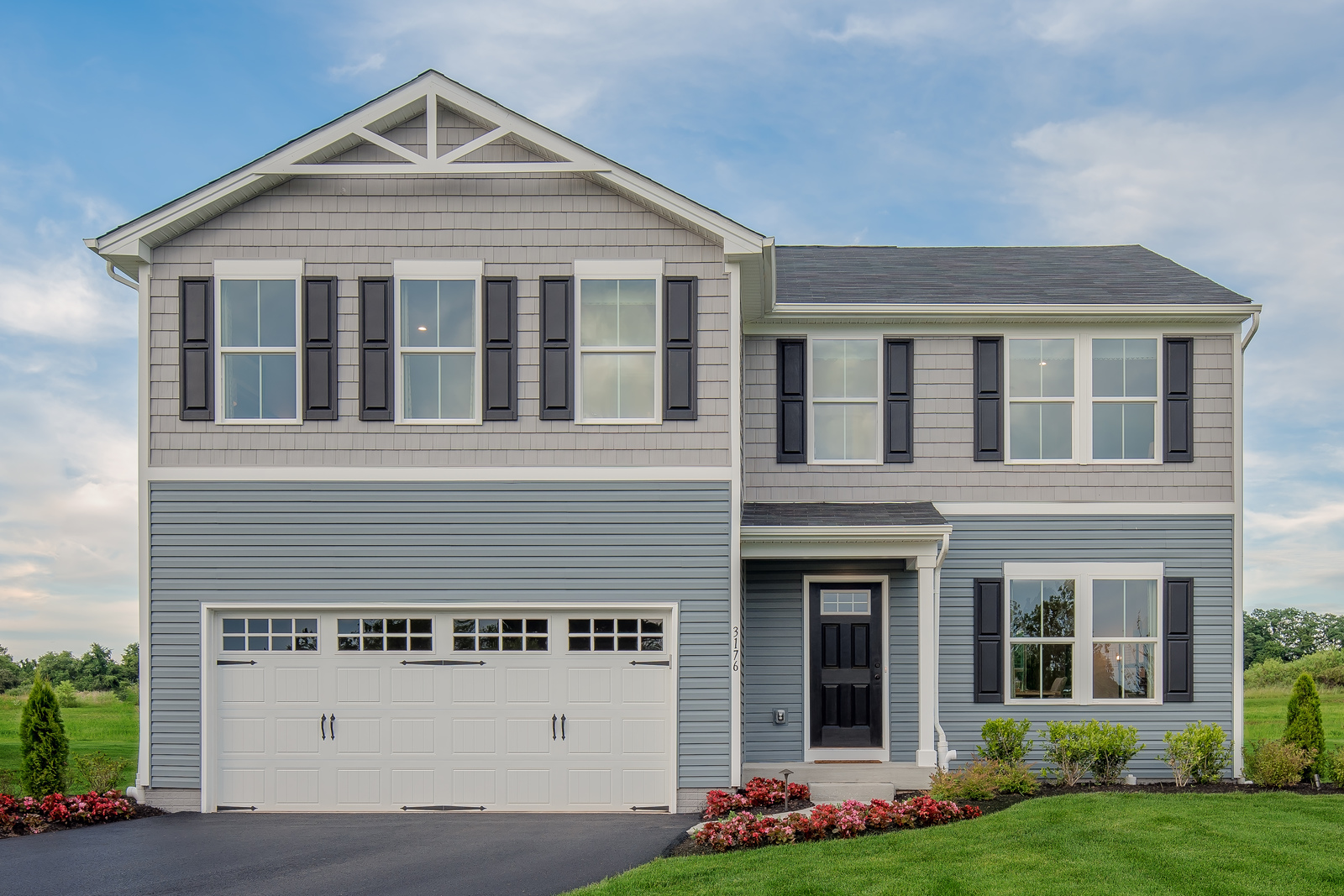 New Homes For Sale At Villages Of Sterling Green In Xenia Oh Within