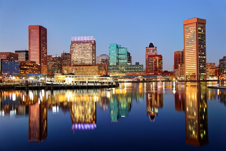 Located Just 22 Miles from Baltimore's Inner Harbor