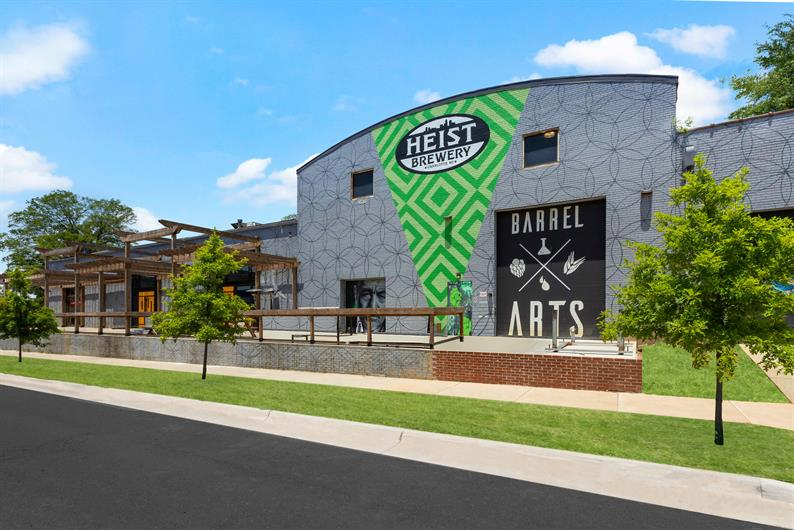 Grab a Brew at Heist Brewery