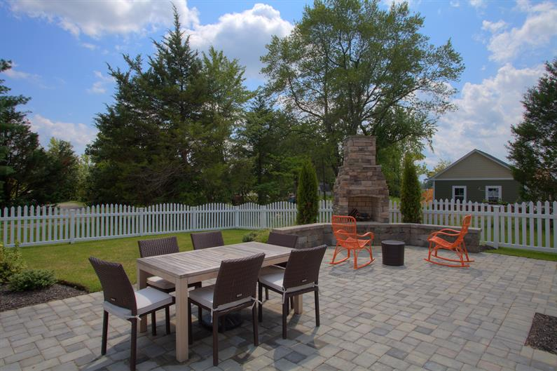 Enjoy Time in Your Private Backyard