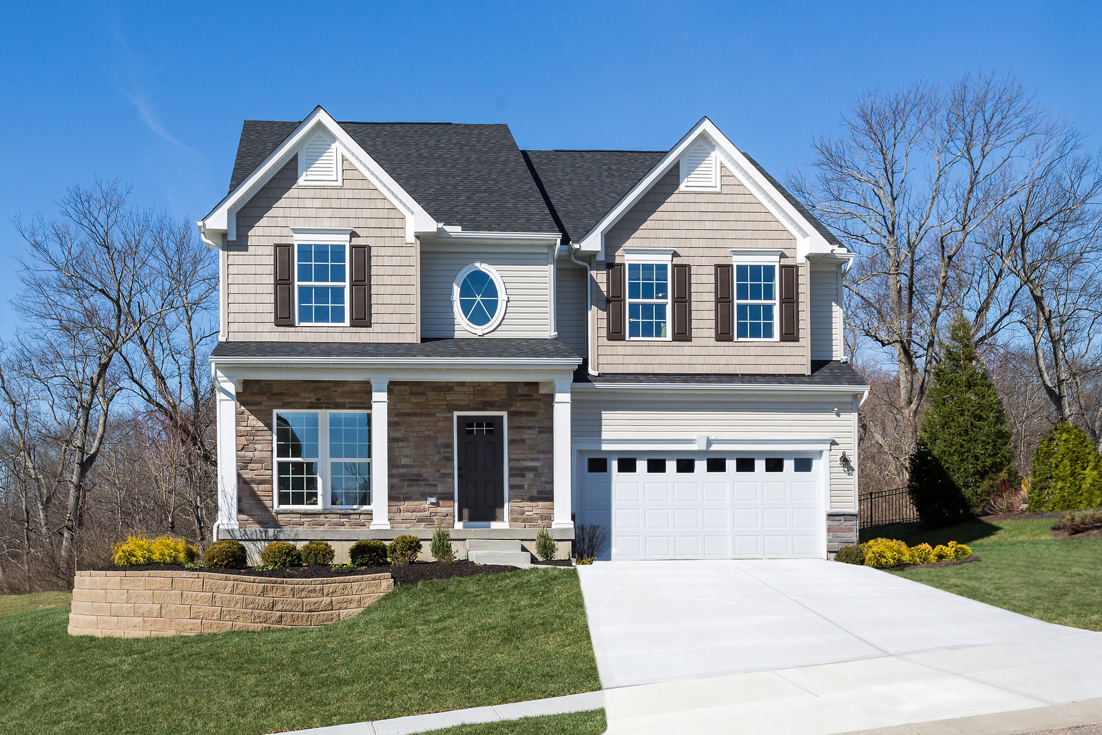 New homes for sale at stone ridge estates in cincinnati for Home builders in northwest ohio