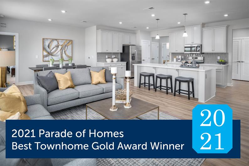 2021 Parade of Homes Best Townhome Award