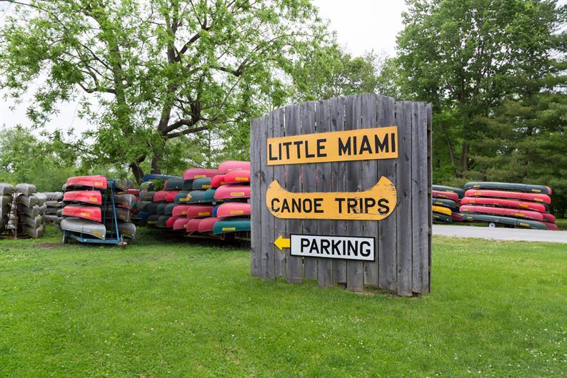 Little Miami Canoe Rental less than 5 minutes away