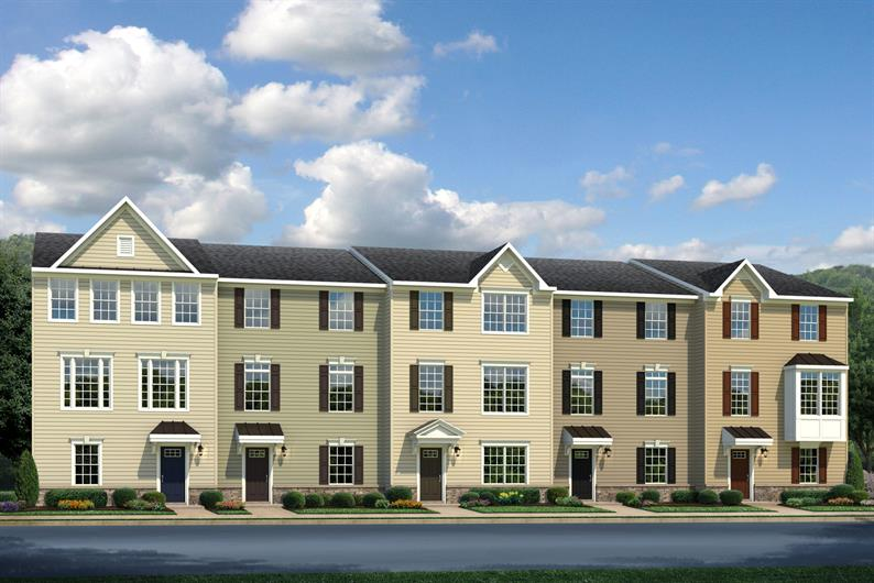 VALLEY RUN - GARAGE TOWNHOMES COMING SOON TO FREDERICKSBURG FROM THE MID $300S!