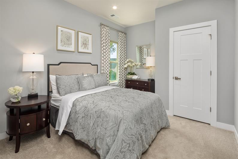 First Floor Bedroom & Full Bath Options