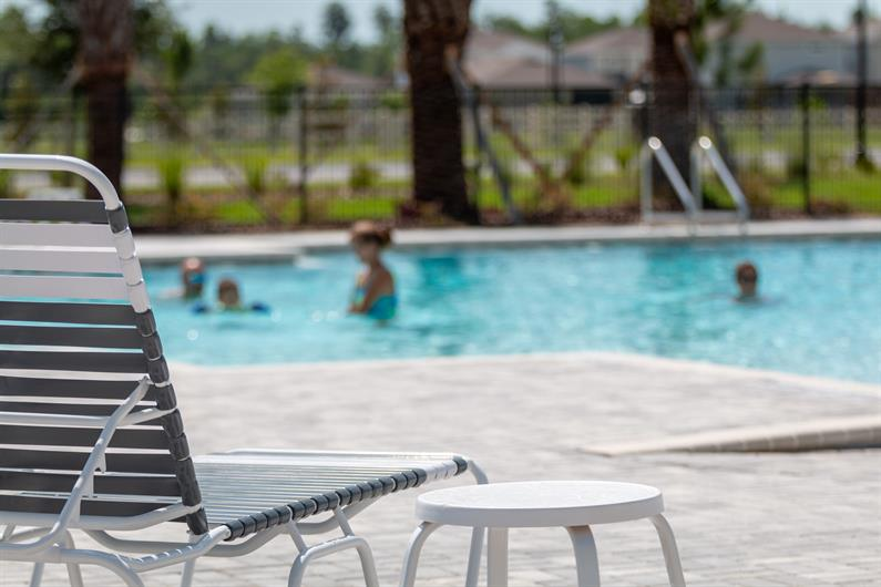 Have fun with the kids at the COMMUNITY POOL AND CLUBHOUSE