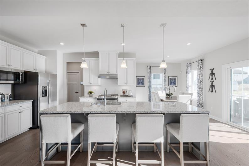 GREAT SPACES WITH 5 LUXURY FINISHES INCLUDED INSIDE AND OUT