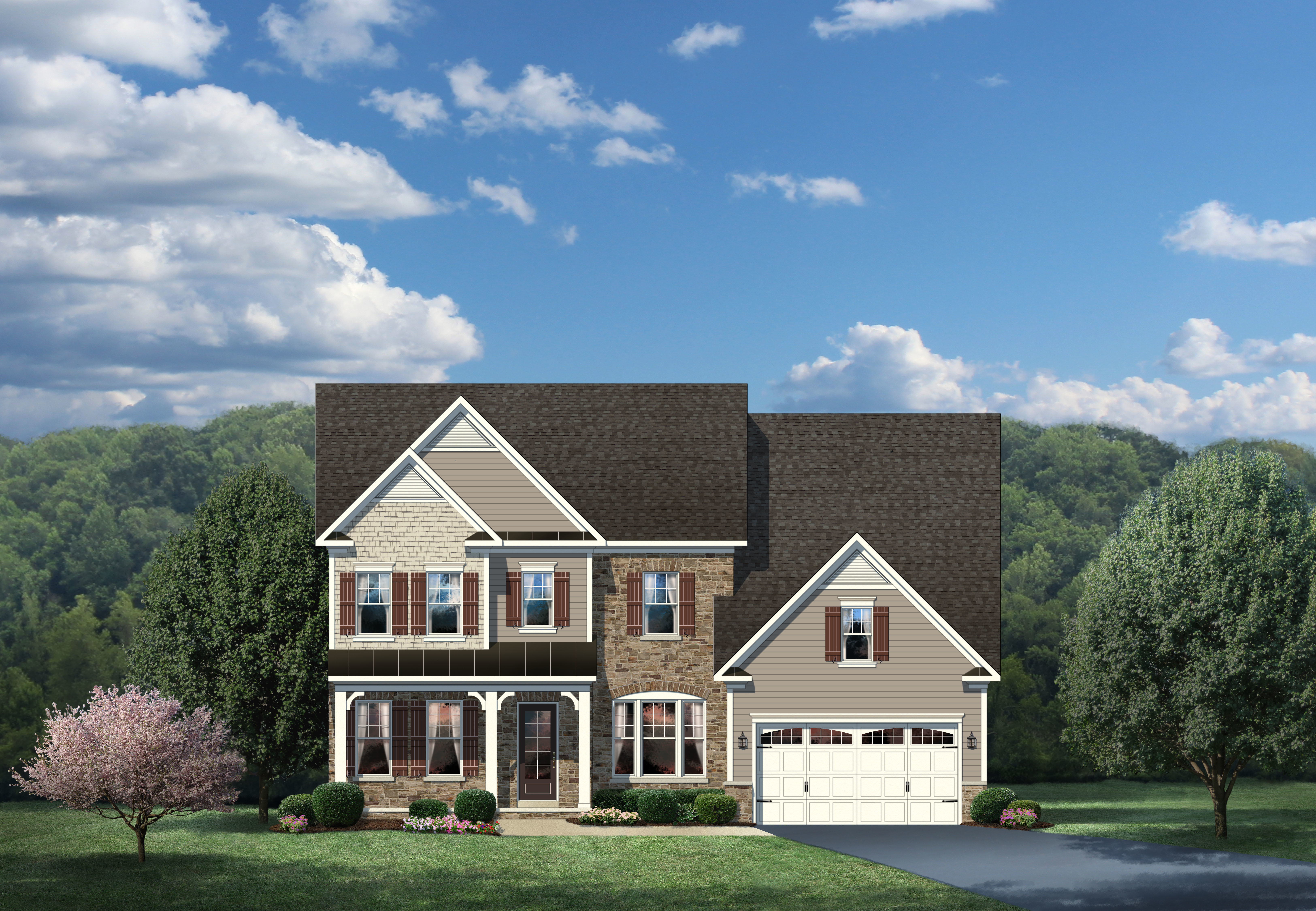 New empress ii home model for sale heartland homes for Heartland homes pittsburgh floor plans