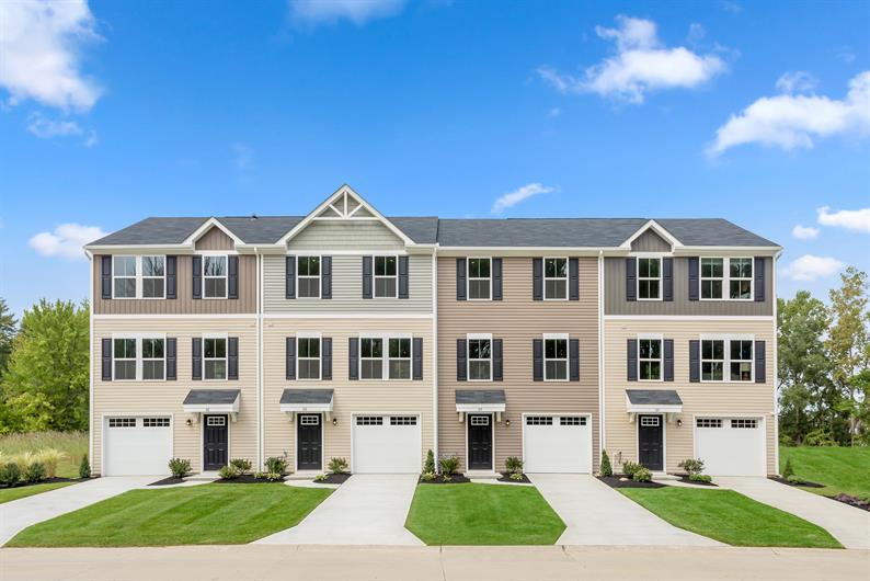Why rent? Affordable townhomes minutes from downtown Durham