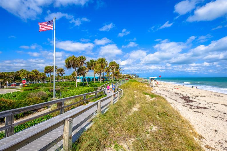 Quintessential American Beach Town