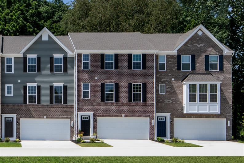 FRONT OR REAR ENTRY 2-CAR GARAGE FOR STORAGE & BRICK OR STONE DETAILS FOR ADDED CURBSIDE APPEAL
