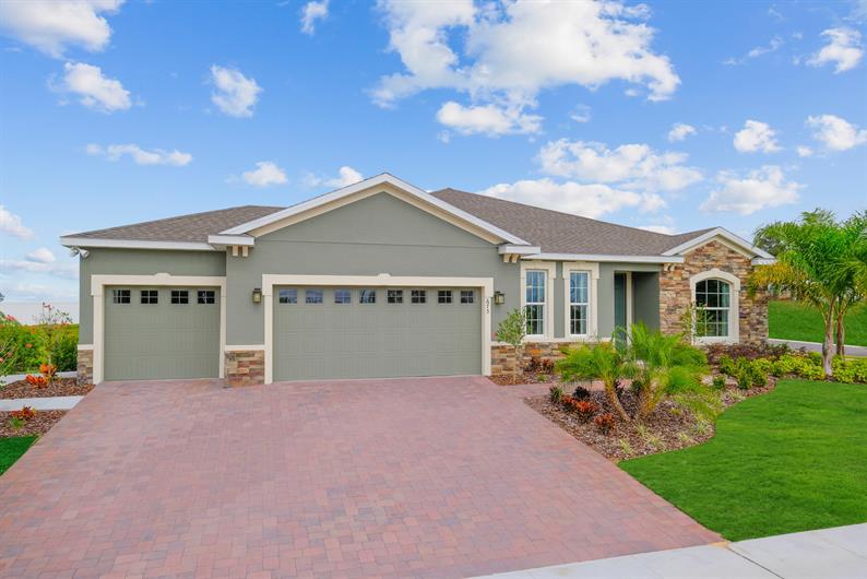 New Single-Family Homes in Davenport
